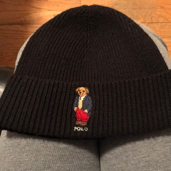 5d851ba1ac8ca9 Polo by Ralph Lauren Accessories | Polo Bear Hat | Poshmark